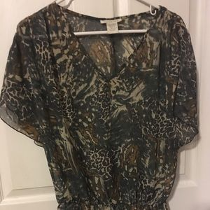Charlotte Russe Blouse 5/$15